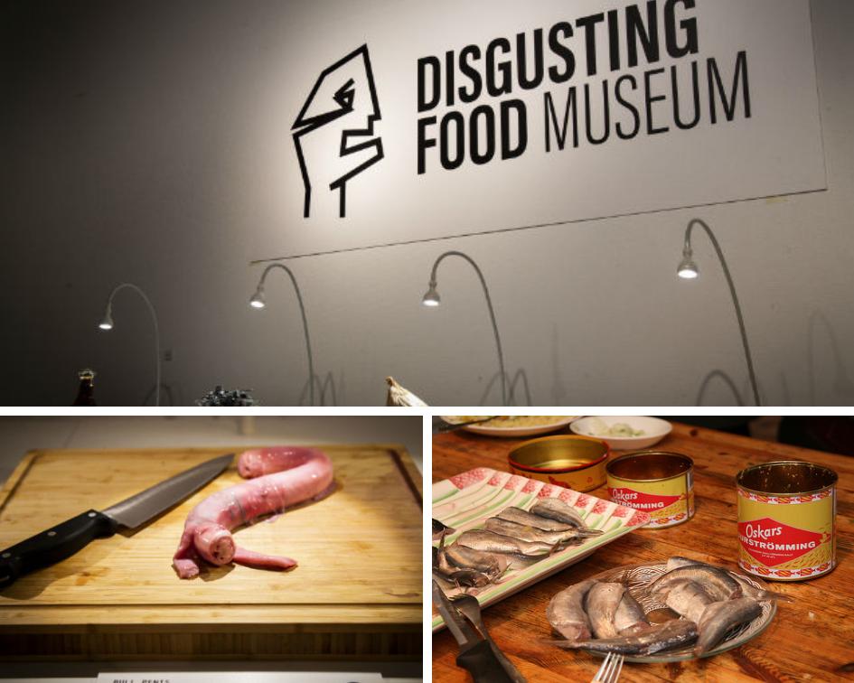 Картинки по запросу отвратительная еда музей